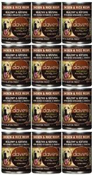 Dave's Naturally Healthy Chicken And Rice Canned Dog Food 13oz