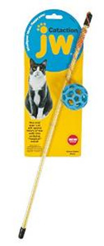 Jw Pet Cataction Holee Roller Ball Wand