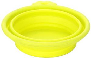 Petmate Silicone Round Travel Bowl 1.5 Cup ..