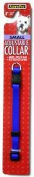 Aspen Pet Core Nylon Adjustable Dog Collar Royal Blue 3/8 X 8-14in