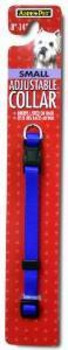 Aspen Pet Core Nylon Adjustable Dog Collar Royal Blue 3/8 X 8-14in