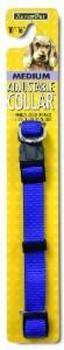 Aspen Pet Core Nylon Adjustable Dog Collar Royal Blue 5/8in X 10-16in