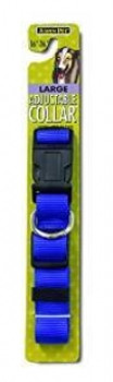 Aspen Pet Core Nylon Adjustable Dog Collar Royal Blue 1in X 16-26in