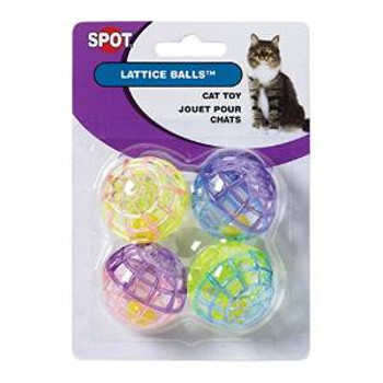 Ethical Lattice Balls With Bell 4pk