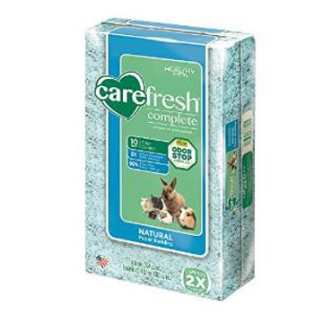 Healthy Pet Carefresh Complete Natural Paper Bedding Blue 10l