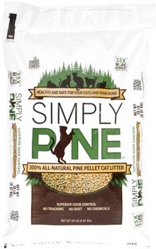 Healthy Pet Simply Pine Pellet Cat Litter 20lb