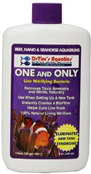 Dr. Tim's Aquatics One & Only Live Nitrifying Bacteria For Cycling Reef 8oz