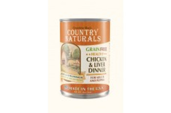 Grandma Mae's Country Naturals Grain Free Dog Can Chicken/liver Dinner 12ea/13oz