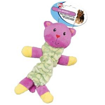 Ethical Lil Spots Plush Bungee Toys Assorted 9in