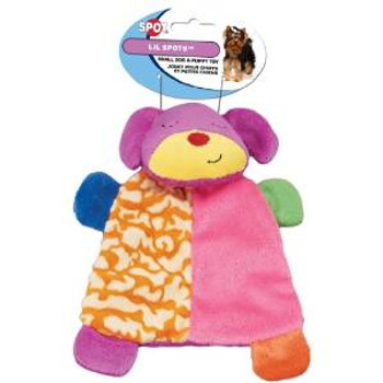 Ethical Lil Spots Plush Blanket Toys Assorted 7in