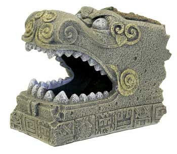 Blue Ribbon Exotic Environments Serpent Head Tomb 3.25x5.5x4.75in