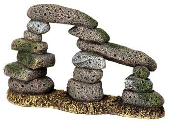 Blue Ribbon Exotic Environments Twin Pebble Archway 8.7 5x 2.5x5.25in
