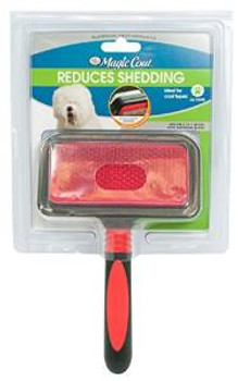 Four Paws Ultimate Touch Pro 2 In1 Slicker Brush With Shed N Blade Medium