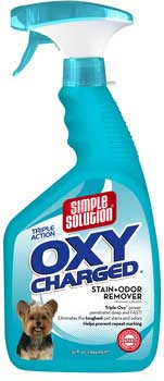 Bramton Simple Solution Oxycharged Stain And Odor Remover 32oz