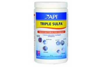 Aquarium Pharmaceuticals API Triple Sulfa Powder 850gm Jar