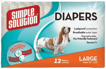 Bramton Simple Solution Disposable Diapers Large 12pk