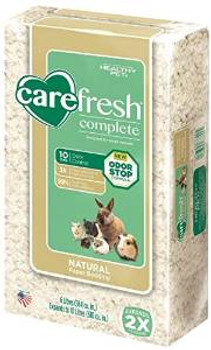 Healthy Pet Carefresh Complete Natural Paper Bedding White 10l