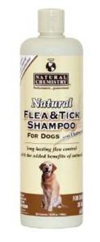 Natural Chemistry Natural Flea & Tick Shampoo W/oatmeal 16oz
