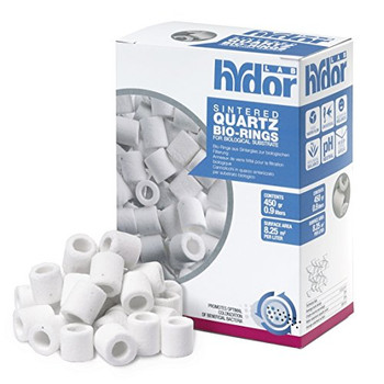 Highly porous efficient sintered quartz Bio-Ring Media is ideal for optimal biological filtration.