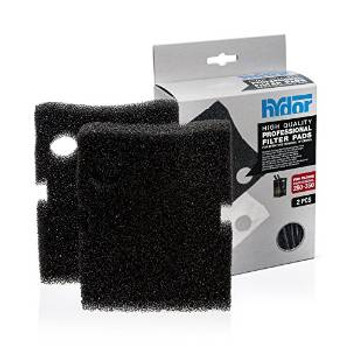 Hydor Canister Media Pro 250/350 Black Pad 2 Pk.