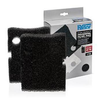 Hydor Canister Media Pro 450/600 Black Pad 2 Pk.