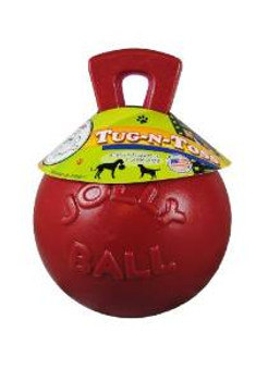 """Jolly Pets Tug-n-toss Red 10"""""""
