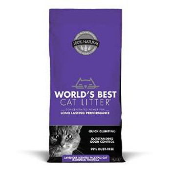 World's Best Scented Multiple Cat Clumping Formula 28 Lb.