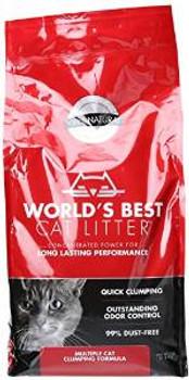 World's Best Multiple Cat Clumping Formula 5/7 Lb.