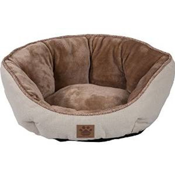 Precision Rustic Clamshell Bed Buff 19x17x9in