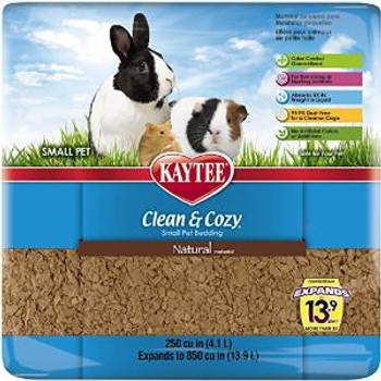 Kaytee Clean And Cozy Natural Bedding 250cu In