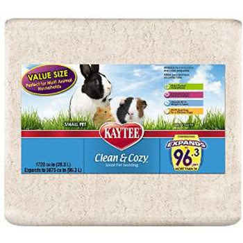 Kaytee Clean & Cozy Bedding 1728cu In