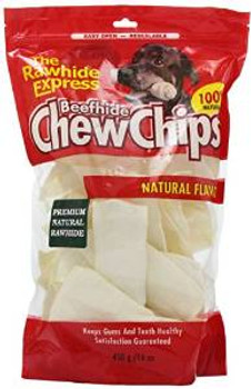 Rawhide Express Natural Curled Chips 1#
