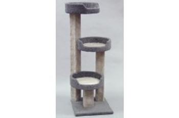North American Pet Kitty Tree W/ 3 Sleep Trays 44in