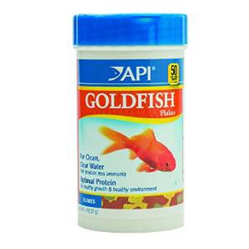 Aquarium Pharmaceuticals API Goldfish Flake 1.1 Oz
