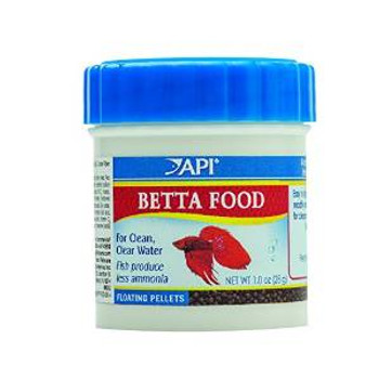 Aquarium Pharmaceuticals API Betta Food .78oz