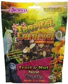 F.M. Brown's Brn Tc Fruit Nut Prrt Trt 12oz-94172