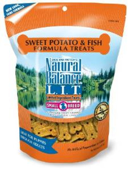 Natural Balance L.i.t. Limited Ingredient Treats Sweet Potato & Fish 8oz