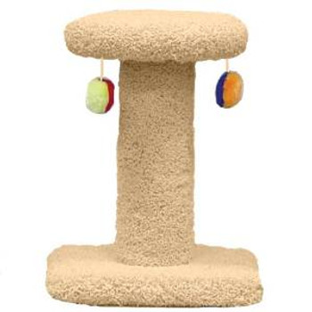 North American Pet Spinning Cat Post With Toys