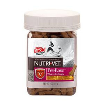 Nutri-vet Pet Ease For Dogs Chicken Wafers 8oz