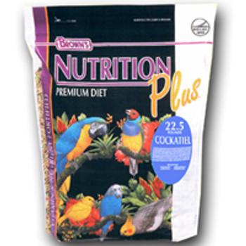 F.M. Brown's Brown S Nutrition Plus Premium Cockatiel Food (225-90658