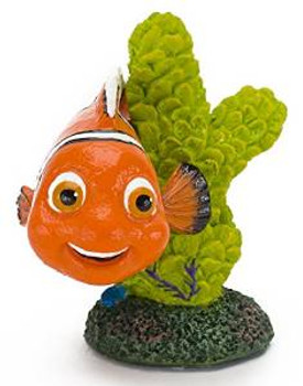 Penn Plax Mini Nemo On Coral Ornament