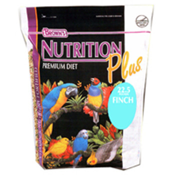 F.M. Brown's Brown S Nutrition Plus Premium Finch Food (225-lb -90656