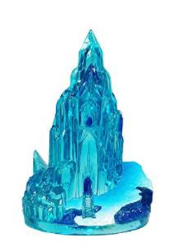 Disney Frozen Resin Ornament Ice Castle 2.5in