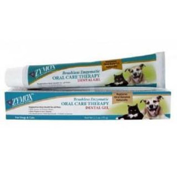 Zymox Brushless Enzyme Oral Care Therapy Dental Gel 2.5 Oz.