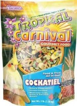 F.M. Brown's Brown S Tropical Carnival Cockatiel Lovebird Conu-90555