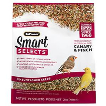Zupreem Smart Selects - Canary/finch 2#