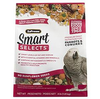 Zupreem Smart Selects - Parrots & Conures 4#