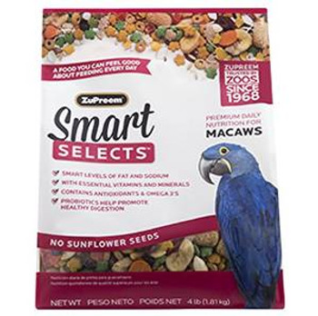 Zupreem Smart Selects - Macaws 4#
