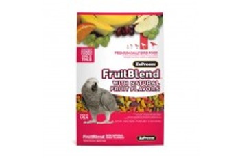 Zupreem Fruit Blend Flavor Premium Bird Food Medium Cockatiel 14 Oz. Pouch