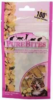 Purebites Salmon 0.49oz/ 14g- Entry Size Cat Treats